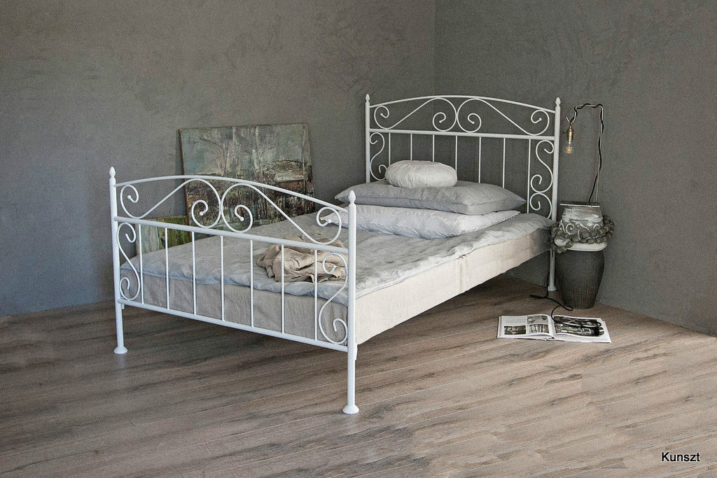 łóżko Metalowe Florence 120 Kute 15 Kolorów