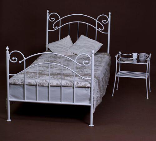 łóżko Metalowe Julia 90 Cm 15 Kolorów
