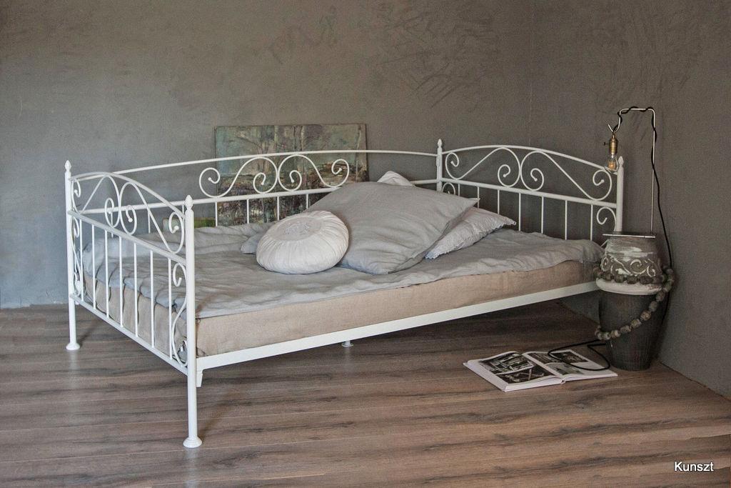 łóżko Metalowe Sofa Florence 80x180200 15 Kolorów