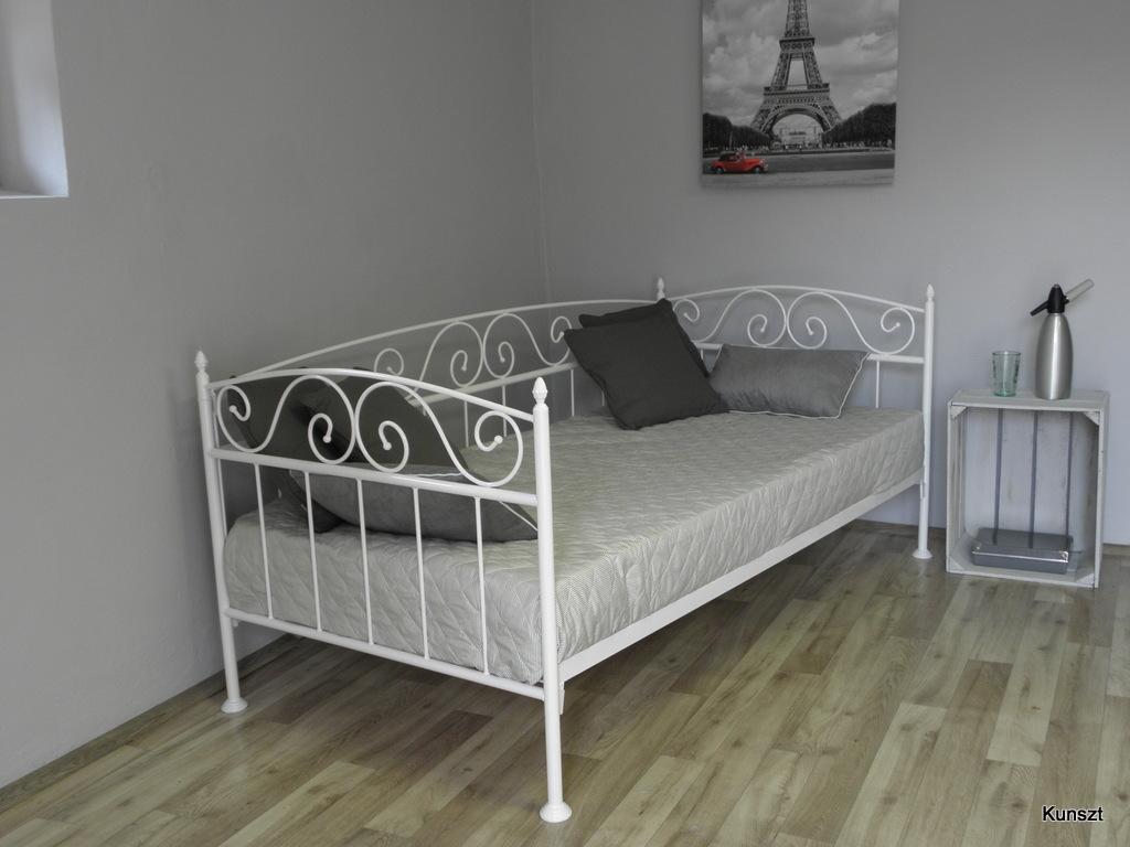 łóżko Metalowe Sofa Karo Ii 80x180200 15 Kolorów